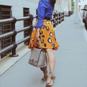 3.1 Phillip Lim leopard skirt for target